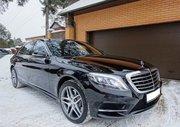 Аренда авто с водителем в Минске. Mercedes W222 S500 Long.