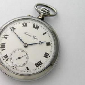 Карманные часы Павелъ Буре. Россия-Швейцария,  1918 год.