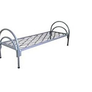 Кровати металлические одноярусные для общежитий