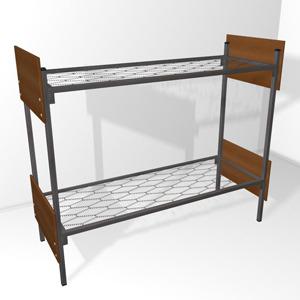 Заказать кровати металлические для дома и дачи