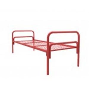 Заказать одноярусные кровати металлические в общежития
