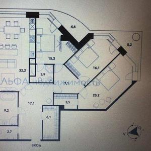 Продажа 3-комнатной квартиры в центре Москвы