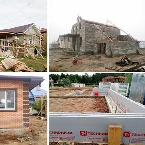 Строительство домов по готовым проектам и индивидуальным заказам