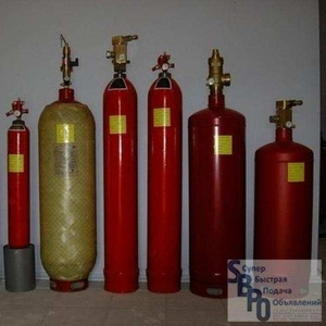 Куплю баллоны,  галлоны,  модули газового пожаротушения