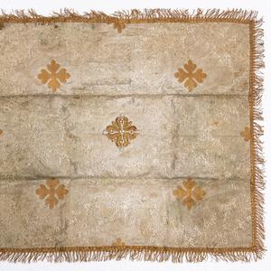 Старинный евхаристический воздух.  Россия,  2-я половина XIХ века.