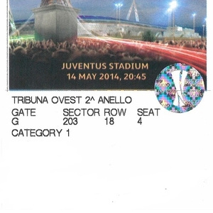 Продам билет на футбол 1 категории на Финал Лиги Европы УЕФА - Турин 2
