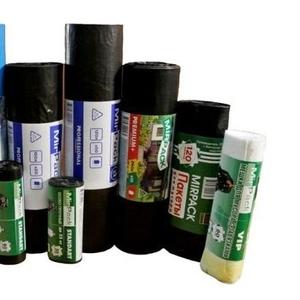 Производим мусорные пакеты 20л,  30л,  60 л., 180л,  200л,  240 литров опто