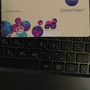 контактные линзы CooperVision Biofinity (плановой замены-месяц)