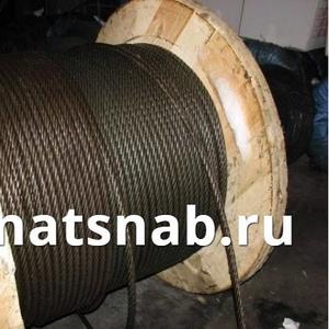 Канат 3066 80 стальной оцинкованный двойной свивки типа ЛК-О