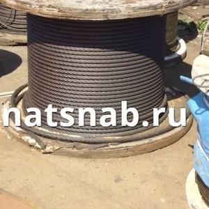 Канат 3064 80 стальной грузовой для растяжки и такелажа от 150 метров