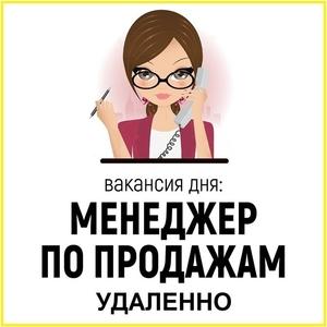 Менеджер по продажам интернет-услуг (удаленно)
