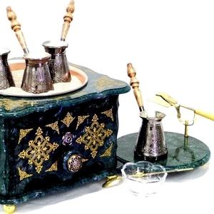 Эксклюзивные мраморные наборы кофе на песке Coffee-East.