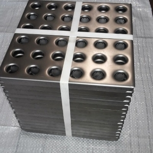 Плитка напольная металлическая перфорированная