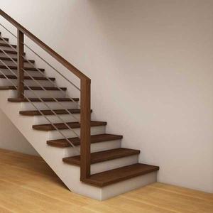 Производство и монтаж лестниц из дерева