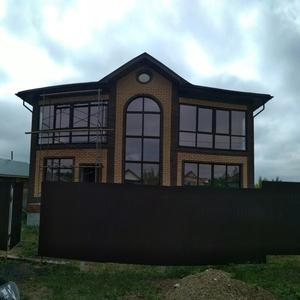 Строительство домов,  частично и под ключ