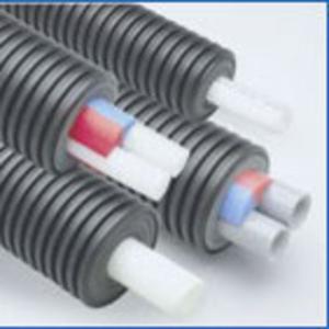 Гибкие изолированные трубопроводы ECOFLEX для наружных сетей! Комплектация,  монтаж,  гарантия!