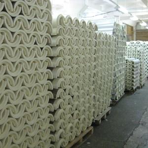 Скорлупа ППУ,  отводы ППУ для утепления труб от производителя
