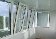Остекление балконов ,  лоджий под ключ